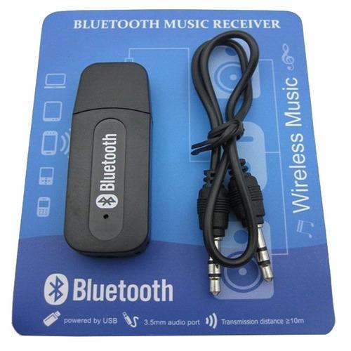 adaptador receptor bluetooth áudio p2 usb bt-163