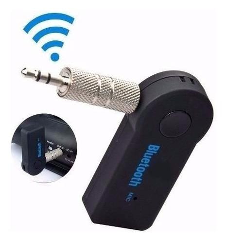 adaptador receptor bluetooth audio recargable carro