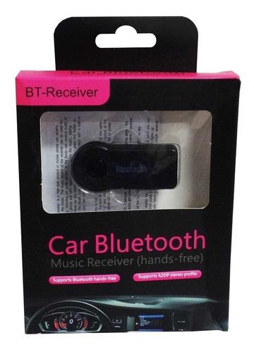 adaptador receptor bluetooth carro recargable aux equipo