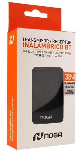adaptador receptor bluetooth noganet rbt04 bateria 3.5mm out