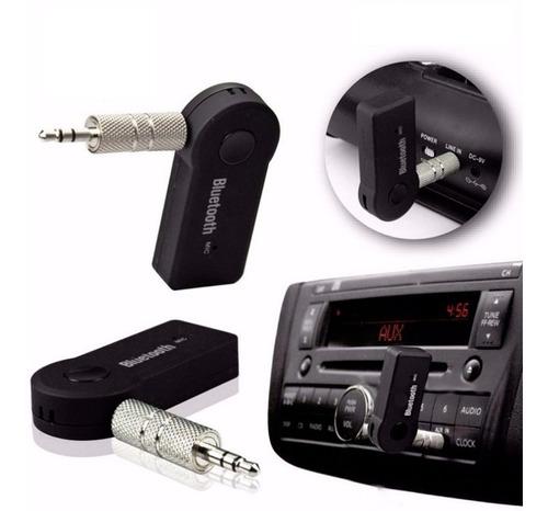 adaptador receptor bluetooth transmisor auto auxiliar m libr