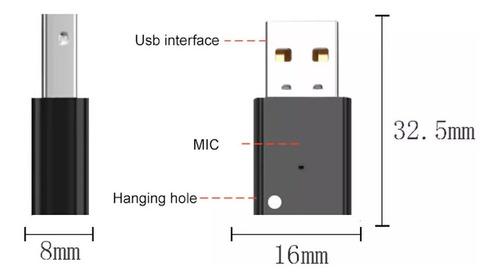 adaptador receptor de audio bluetooth 5.0 usb
