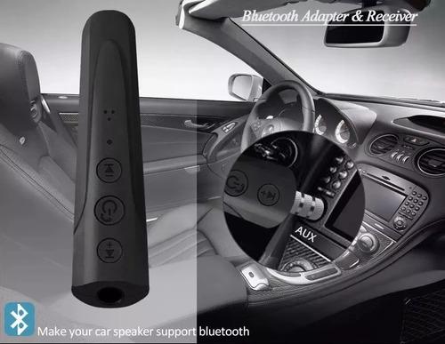 adaptador receptor de música audio bluetooth aux 3.5mm