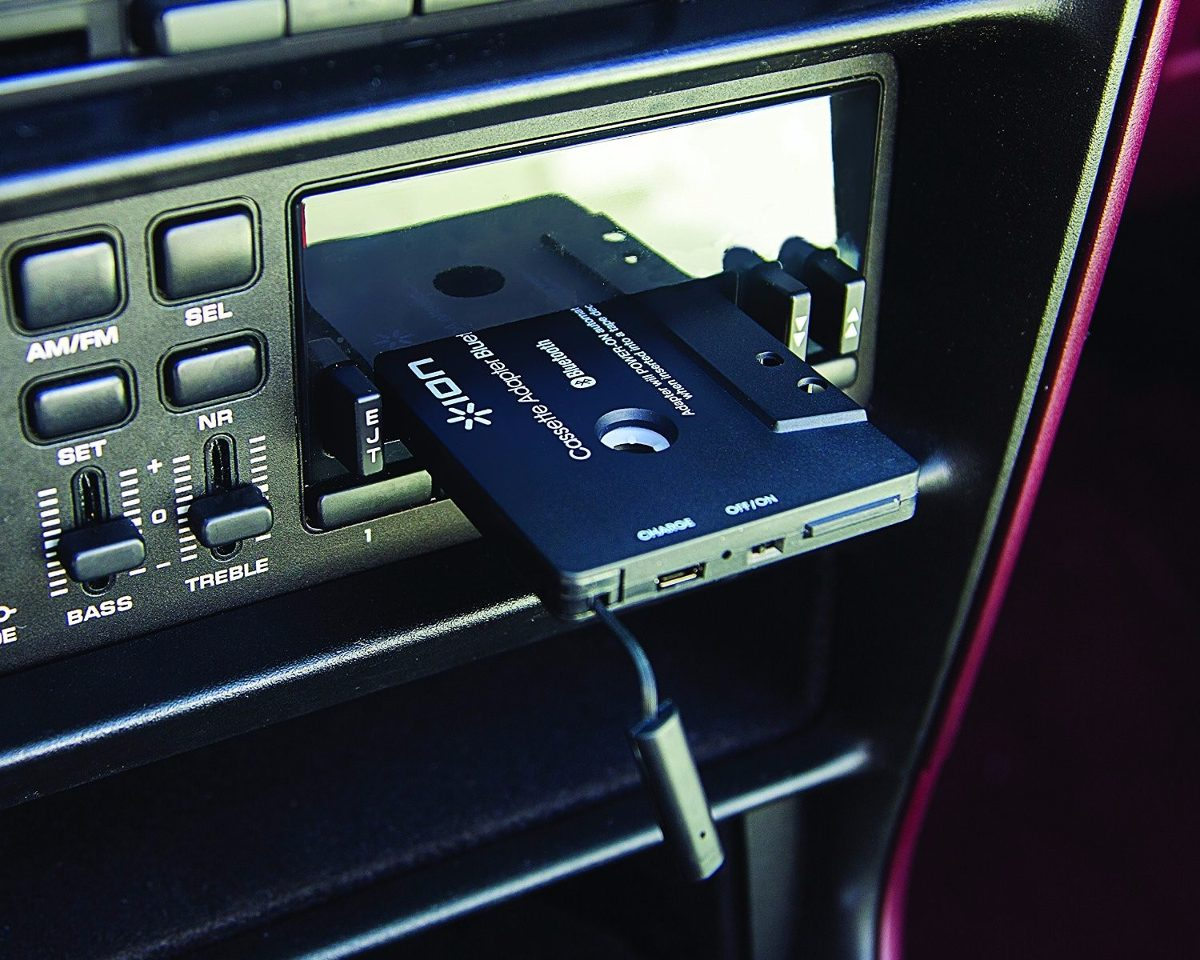 ion cassette adapter bluetooth instructions