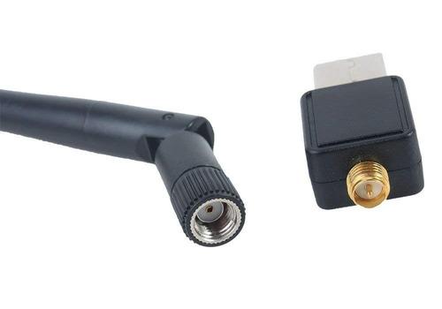 adaptador receptor wifi usb inalambrico 150 mbps con antena