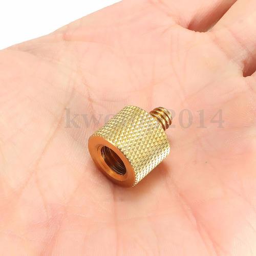 adaptador reductor 3/8 a 1/4 3/8 hembra a 1/4 macho cámara