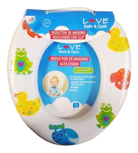 adaptador reductor inodoro acolchado lavable love babymovil