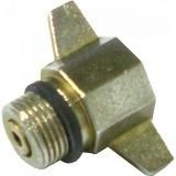 adaptador redutor botijão gás p13 x p02 rosca fina kit 10 un