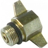 adaptador redutor botijão gás p13 x p02 rosca fina kit 5 un