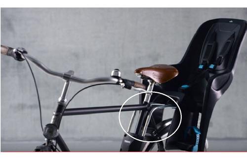 adaptador ridealong low saddle p/ ridealong - thule
