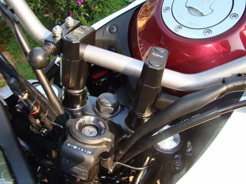 adaptador riser guidão suzuki gsx650f gsx 650 f