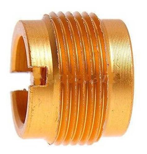 adaptador rosca 3/8 a 5/8 de aluminio pie de microfono