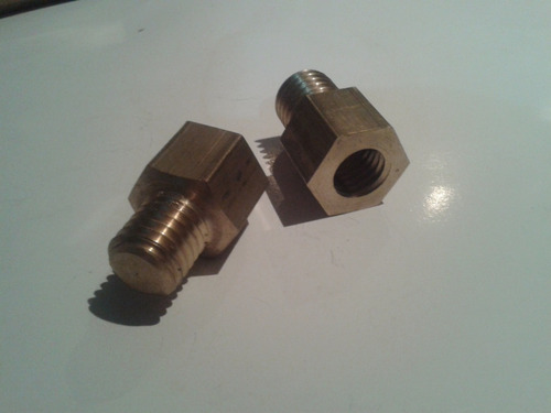adaptador rosca 5/8 a m14 o m14 a 5/8 backing plate detail