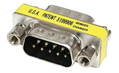adaptador rs-232 db-9 serie macho a macho e2530