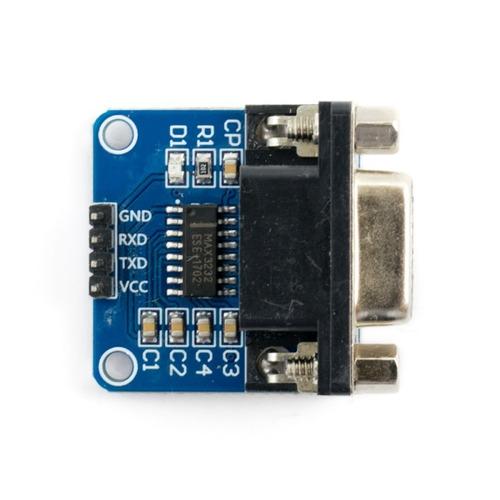 adaptador rs232 max232 a ttl db9 arduino pic