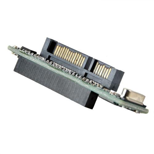 adaptador sata ide ssd disco duro hembra a 7+15 pin macho
