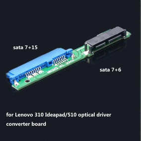 Adaptador Sata Mini A Sata Para Laptop Lenovo Serie 310-500