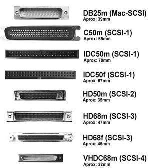 adaptador scsi-400 idc 50p hembra - sub 68p hembra