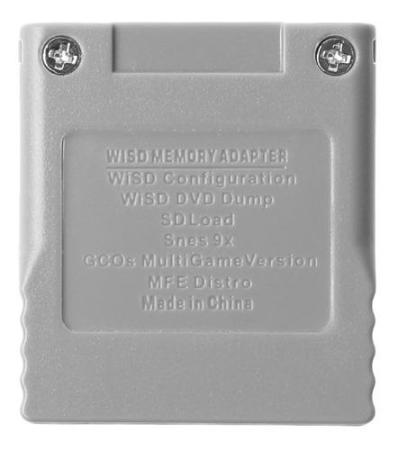 adaptador sd gamecube - wisd