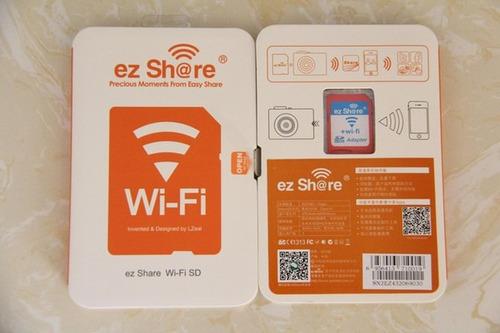 adaptador sd wifi wireless sdhc eyefi flashair apple android