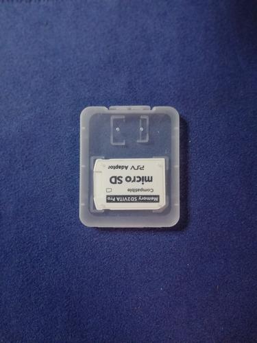 adaptador sd2vita 5.0 ps vita 3.60/3.65 - 3.68 envio gratis