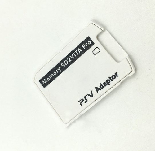 adaptador sd2vita memoria sd a ps vita 5.0