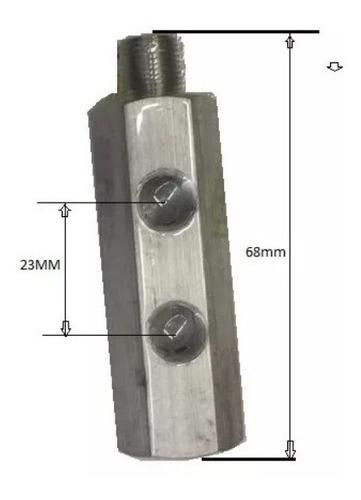 adaptador sensores pressão cebolinha oleo rosca 1/8 npt