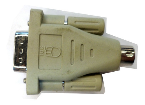 adaptador serial paralelo db-9 macho ps2 macho (usado)dz2084