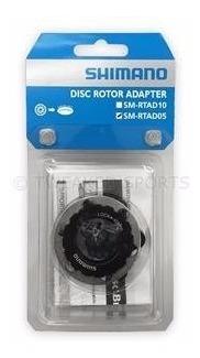 adaptador shimano de disco 6 parafusos p/ cubo center lock