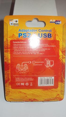 adaptador simple psx/ps2.compatible wind98,2000,xp.caballito