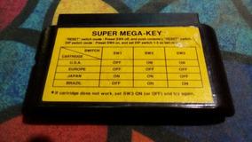 Adaptador Super Mega-key Mega Drive