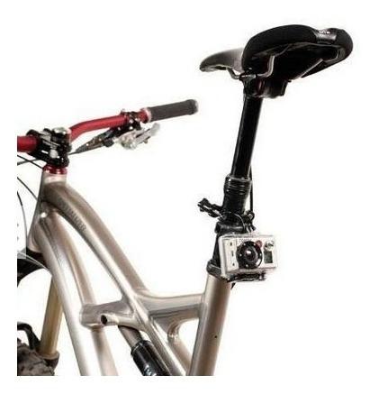 adaptador suporte tubos bike moto guidao mount go pro gopro