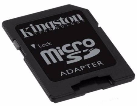 adaptador tarjeta de memoria micro sd a sd