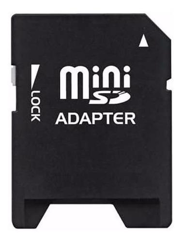 adaptador tarjeta de memoria minisd a sd - factura a b