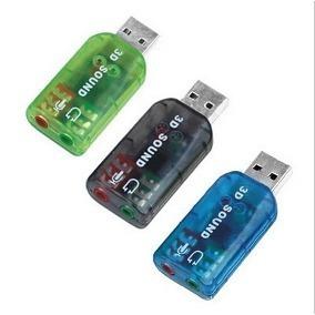 adaptador tarjeta de sonido usb audio 5.1 canales pc laptop
