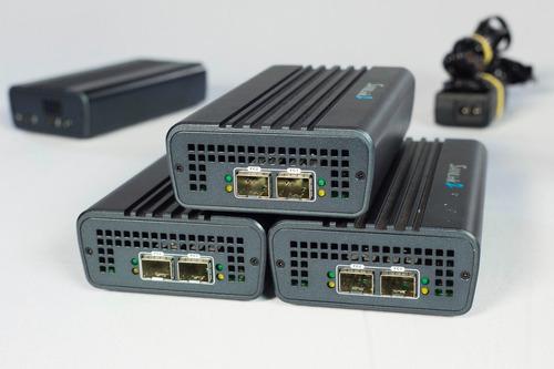 adaptador thunderbolt 2 para fibra sanlink2 promise