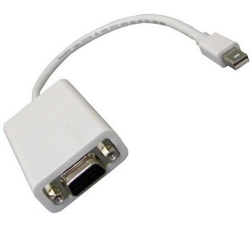 adaptador thunderbolt mini display port a vga