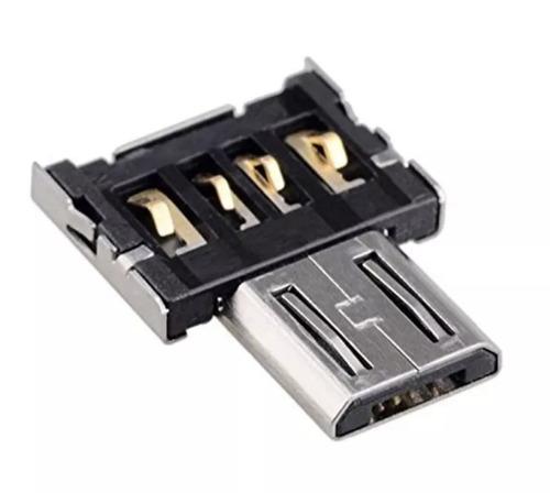 adaptador tipo c a micro usb otg lector de micro usb