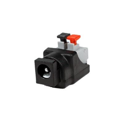 adaptador tipo jack de 3.5mm hembra con terminales d presion