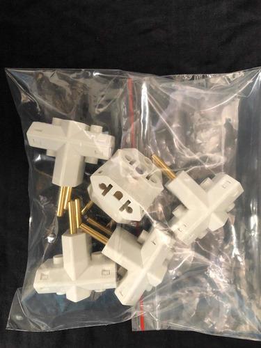 adaptador tomada padrão novo antigo benjamin kit com 5