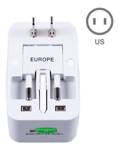 adaptador tomada universal internacional uk eua europa asia