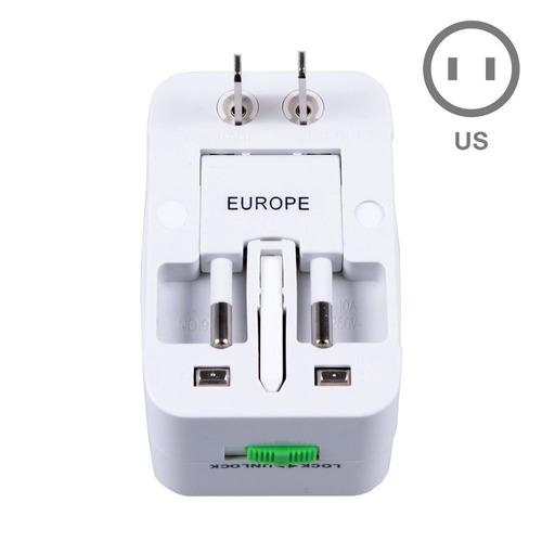 adaptador tomada universal uk usa europa asia - mod 2017 @!