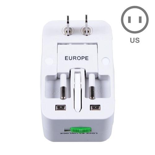adaptador tomada universal uk usa europa asia - mod 2019 @!