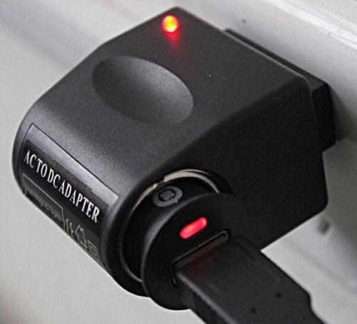 adaptador tomada veicular 110v para 220v ac para 12v dc
