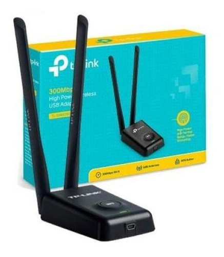 adaptador tp-link rompemuros usb wifi laptop & pc wn8200nd