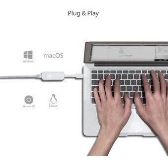adaptador tp-link usb 3.0 a lan gigabit rj-45 windows y mac
