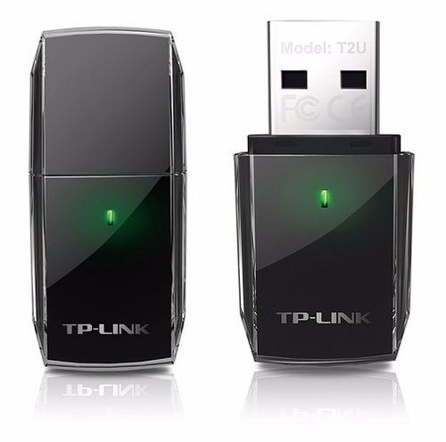 adaptador tp link usb wifi ac600 archer t2u dualband 600mbps