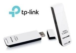 adaptador tp-link usb wifi laptop y pc n 300mbps tl-wn821n
