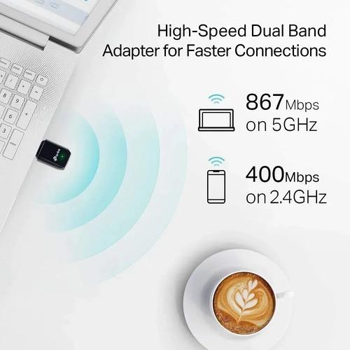 adaptador tp link wireless archer t3u ac1300 usb 3.0 mac w10