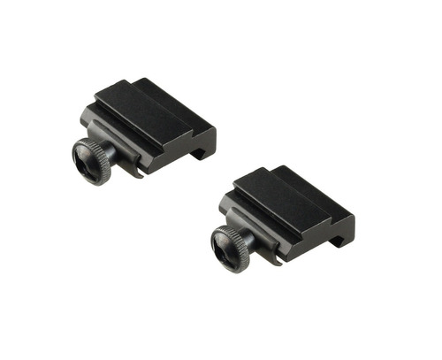 adaptador trilho 20mm ou 22mm para 11mm red dot luneta mount